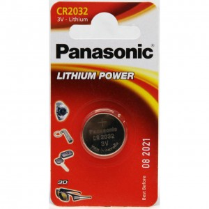 Bateria PANASONIC CR2032 3V