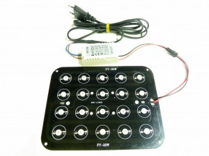 Panel LED DIY 20x1W do akwarium morskiego