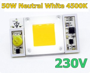 Dioda LED 50W 230V BRIDGELUX NEUTRAL WHITE 4500K biała neutralna