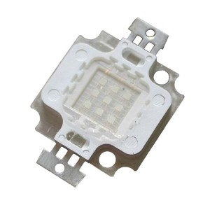 Dioda 10W white full spectrum 6500K + 400-840nm PCB pełne widmo
